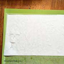 Paper With - how to cut freezer paper with the cricut explore right hook