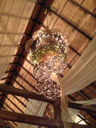 Grapevine Chandelier Peacock Ridge Venue North Lawrence Oh Weddingwire