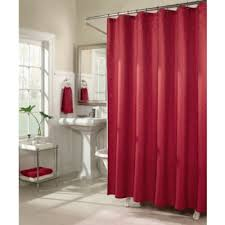 Shower Curtains With Red Buy Red Curtains Showers From Bed Bath U0026 Beyond