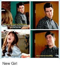 New Girl Memes - i m gonna go check on the best man imsure he s handling whatever