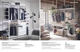 ikea wardrobes brochure 2018