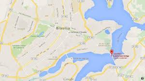 map of brasilia juscelino kubitschek bridge world easy guides