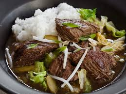 slow cooker korean beef stew with napa cabbage and pickles recipe