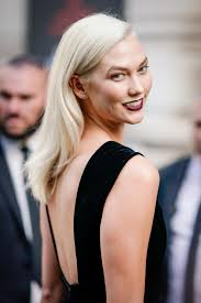 karlie kloss hair color karlie kloss now has platinum hair instyle com