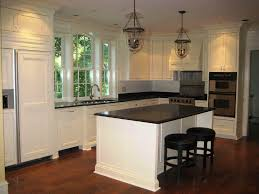 alder wood ginger yardley door white kitchen island with seating