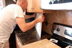 Kitchen Tile Backsplash Installation Way That It Could Very Tiles Backsplash Aluminum Tile Installation