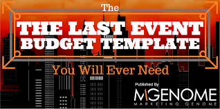 the last event budget template you will ever need