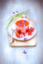 cuisiner les fleurs cuisiner fleurs companion moulinex soupe fraises groseilles
