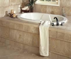 cleveland tumbled stone tile kitchen traditional with backsplash