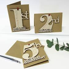 Silver Anniversary Invitation Cards Personalised Wedding Anniversary Card By Hickory Dickory Designs