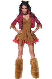 Werewolf Halloween Costume Howlin U0027 Werewolf Woman Costume Purecostumes