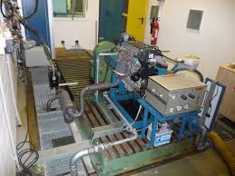 engine test bench with fourstroke spark ignition engine brake
