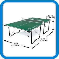 what size is a regulation ping pong table ping pong table dimensions size and in standard plan 12 skinsmart info