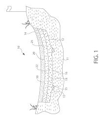 patent us8062143 golf course sand bunker construction and its