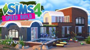 the sims 4 speed build bohemian beach house movie hangout