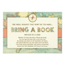 baby shower bring a book instead of a card book baby shower invitations announcements zazzle