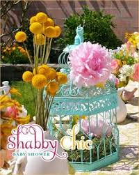 Shabby Chic Wedding Shower by Bridal Shower Food Table The Fancy Champagne Glasses Look