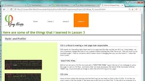 html tutorial udacity greg bopp portfolio