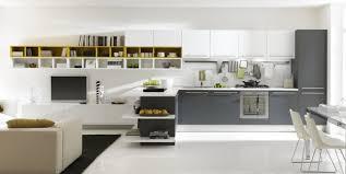 deco cuisine gris et blanc emejing cuisine gris et blanche pictures design trends 2017
