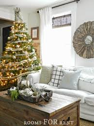 Christmas Decoration For Rent by Woodland Glam Christmas Tree Rooms For Rent Blog