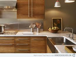 Modern Kitchen Cabinets Pictures Of Kitchens Modern Entrancing Modern Wood Kitchen