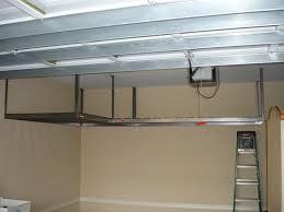 garage overhead iron storage ideas garage overhead iron storage ideas