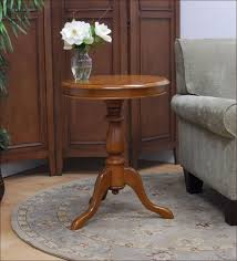 round oak end table end tables wrought iron and wood end tables new coffee table