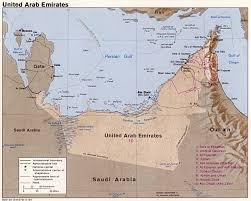 map of oman and uae united arab emirates maps perry castañeda map collection ut