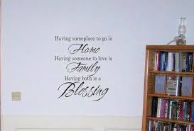 blessing for the home home family blessing wall decals trading phrases