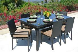 outdoor resin wicker furniture wicker deep seating dining set