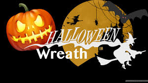 how to halloween mesh wreath youtube