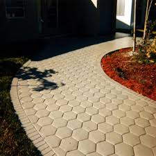 Stepping Stone Molds Uk by Hexagon Driveway Paving Pavement Stone Mold Concrete Stepping