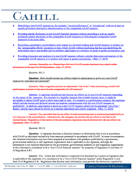 advisorselect sec issues new guidance on non gaap financial
