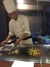 japanese restaurant cook at table cooking at our table picture of katsura japanese cuisine auckland