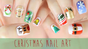 10 of the best christmas nail art designs nail art scoop