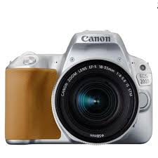 jual canon eos 200d kit ef s18 55 is stm silver di www camera co id