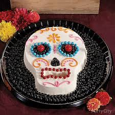 dead candy u0026 sugar skull cake party