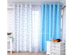 Navy Blue Curtains For Nursery Blue And White Drapes View In Gallery White Blue And White