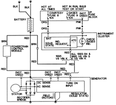 solved 1985 eldorado alternator wiring diagram where fixya