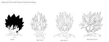 shonen hairstyles mat dbz ensor hair designs by lilrwar on deviantart