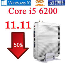 pc bureau intel i5 6gen intel i5 6200u garantie eglobal win10 mini pc sans
