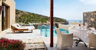 chambre avec piscine priv villas une chambre avec piscine privée daios cove crète