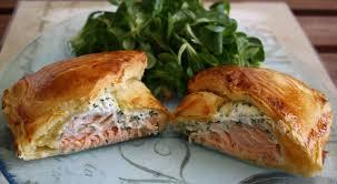 cuisiner le saumon frais feuilletés au saumon fumé et fromage frais toutes les recettes