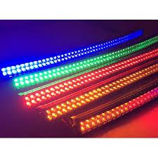 multi color led light bar 50 inch light bar curved chinyun lighting jeep pinterest