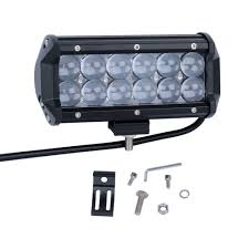 Brightest Led Light Bar by Nilight 6 5 Inch 36w Led Work Light Led Light Bar 4d Reflector