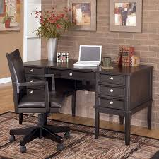 ashley furniture carlyle large leg desk carlyle home office set w storage leg desk signature design by