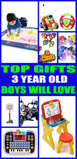 gifts for 3 year boys