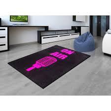tapis de chambre ado chambre ado fille violet noir
