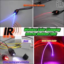 Color Interior Lights For Cars Novovisu Wireless Ir Control Car Interior Ambient 16 Color Light