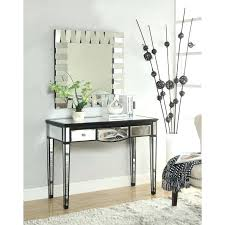 Black Console Table With Drawers Mirror Accent Table U2013 Onne Co